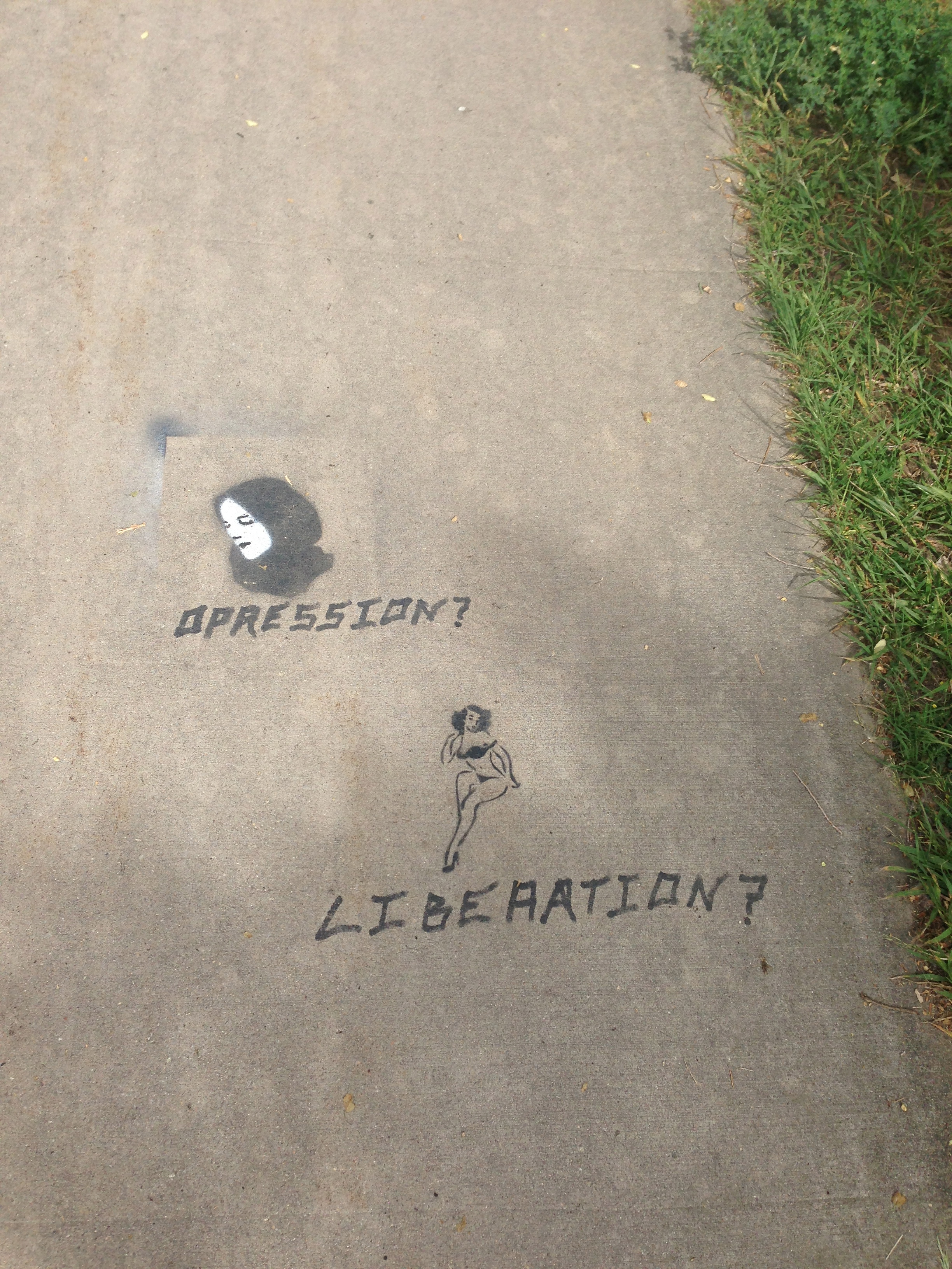 oppression/liberation
