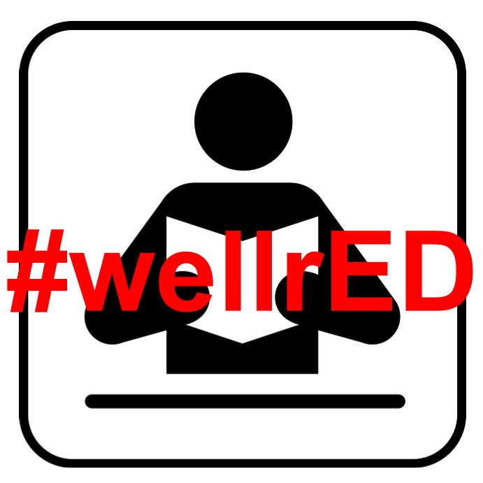 #wellrED logo